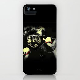 Self-portrait iPhone Case