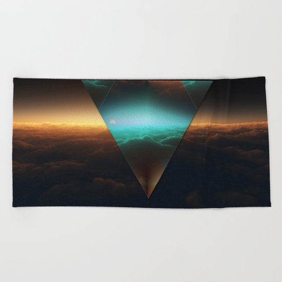 A.I Space Beach Towel
