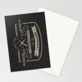 Minutemen of the Commonwealth Stationery Cards