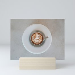 Latte Art III Mini Art Print