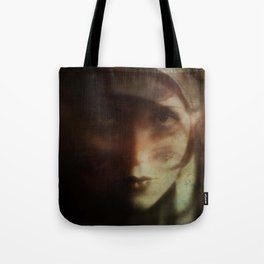 Clara, in Darkness Tote Bag