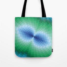 Blue-green fantasy Tote Bag