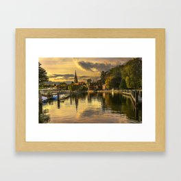Marlow In The Late Afternoon Light Framed Art Print