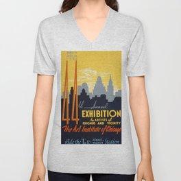 Exhibition Unisex V-Neck