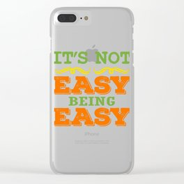 Colorful simple and attractive tee for you! Makes a nice gift too! Grab yours now!  Clear iPhone Case