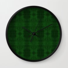 Fun With Light 5 Emerald Wall Clock