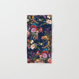 FLORAL AND BIRDS XII Hand & Bath Towel