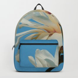 White Magnolia Backpack