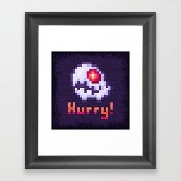 Hurry Von Death Ghost Framed Art Print