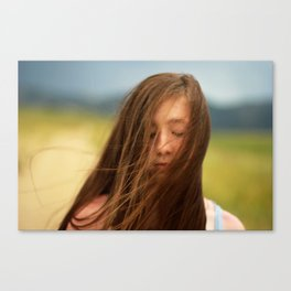 Winded.  Canvas Print