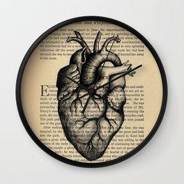 Pride & Prejudice, Chapter XXXV: Anatomical Heart Wall Clock