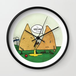 Nacho Friend Wall Clock