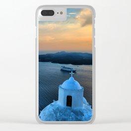 Santorini 10 Clear iPhone Case