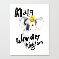 Koala Fun  Canvas Print