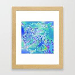 Winter's frost Framed Art Print