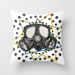 Personal Vibe Protection Throw Pillow