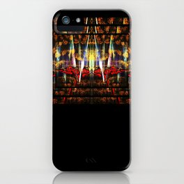 Fire Thoughts iPhone Case