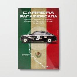 Panamericana Vintage Lancia Metal Print