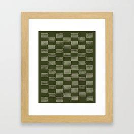 hatches –small doug fir Framed Art Print