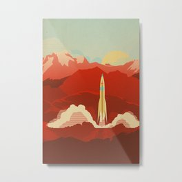 The Uncharted Metal Print