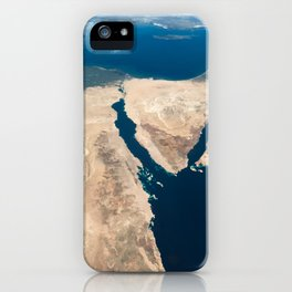 The Nile and the Sinai, to Israel and beyond. One sweeping glance of human history iPhone Case