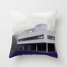 Villa Savoye , Le Corbusier Throw Pillow