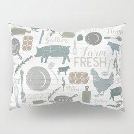 Modern Farmhouse // Gather Round & Give Thanks Pillow Sham