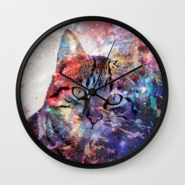 SpaceCat Wall Clock