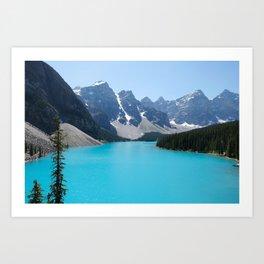 Moraine Lake, Banff Canada Art Print