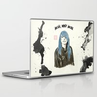 rock and roll Laptop & iPad Skins featuring Rock and Roll by Bryan James