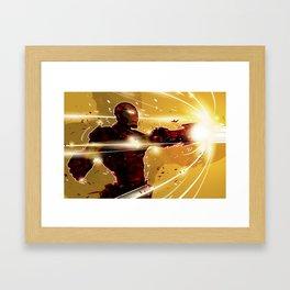 ka-boom Framed Art Print