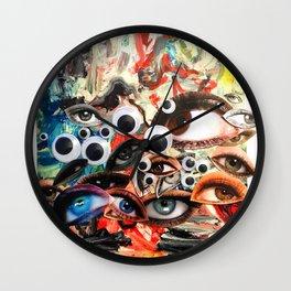 Googly Wall Clock