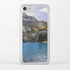 Oeschinen Lake II Clear iPhone Case