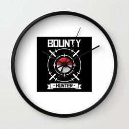 The Bounty Hunter Wall Clock