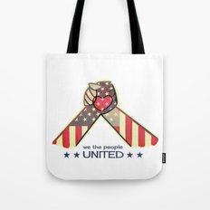 United Hands Tote Bag