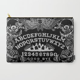 Ouija Board Black Carry-All Pouch