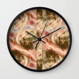 Kitty photo Wall Clock
