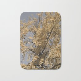 Ginkgo Biloba tree 1 Bath Mat