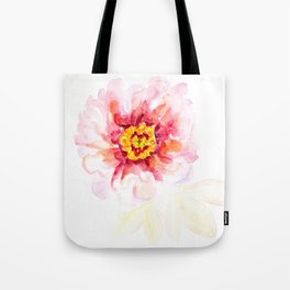 Peony Sherbet Painting Tote Bag