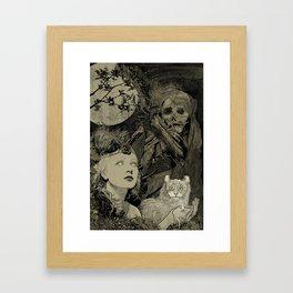 Fog Weaver Framed Art Print