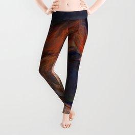 Edvard Munch - Love and Pain (The Vampire) Leggings
