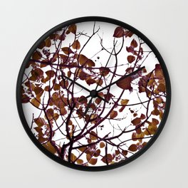 LITTLE BROWN Wall Clock