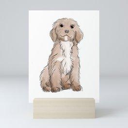 Cute Puppy Mini Art Print