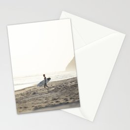 Sunset surf session Stationery Cards