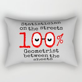 Math Geek Rectangular Pillow
