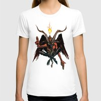 baphomet T-shirts featuring BAPHOMET by Lowell Isaac