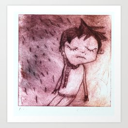 Miguel,  grabado Art Print
