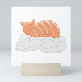 Pet Sushi Mini Art Print
