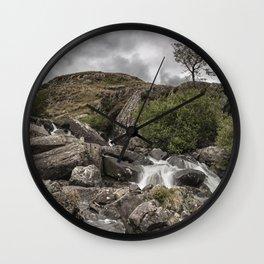 Tree in Snowdonia Wall Clock