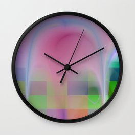 abstract lighteffets -5- Wall Clock